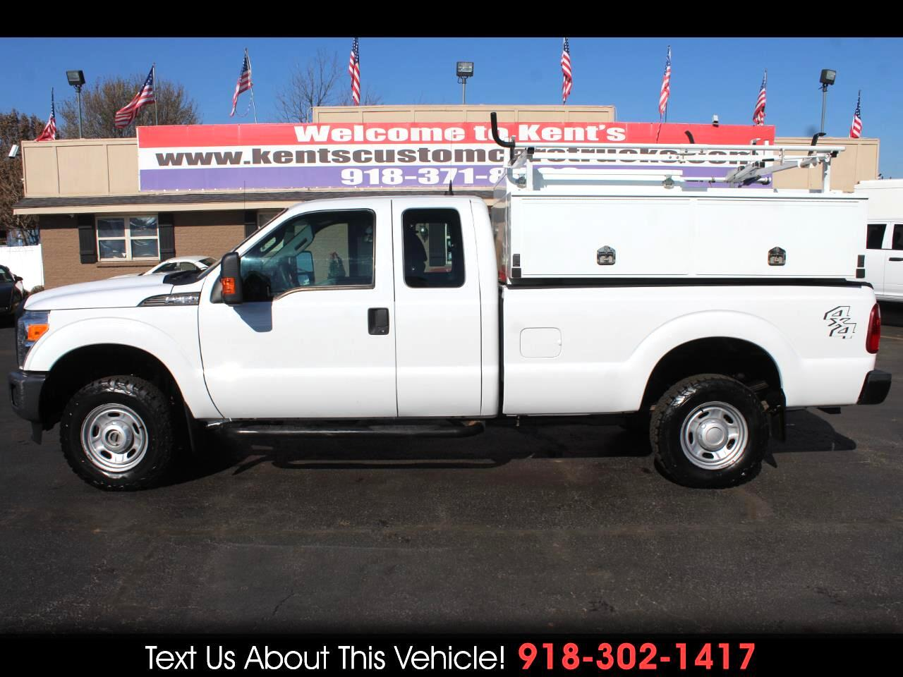 2012 Ford F-250 SD XL SuperCab 4WD Service Body