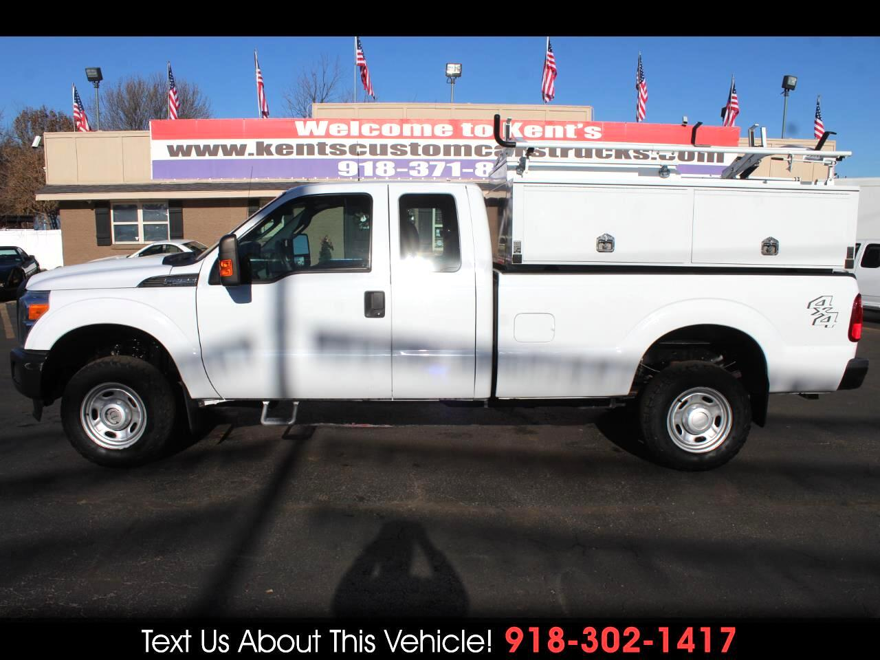 2011 Ford F-250 SD XL SuperCab 4WD Service Body