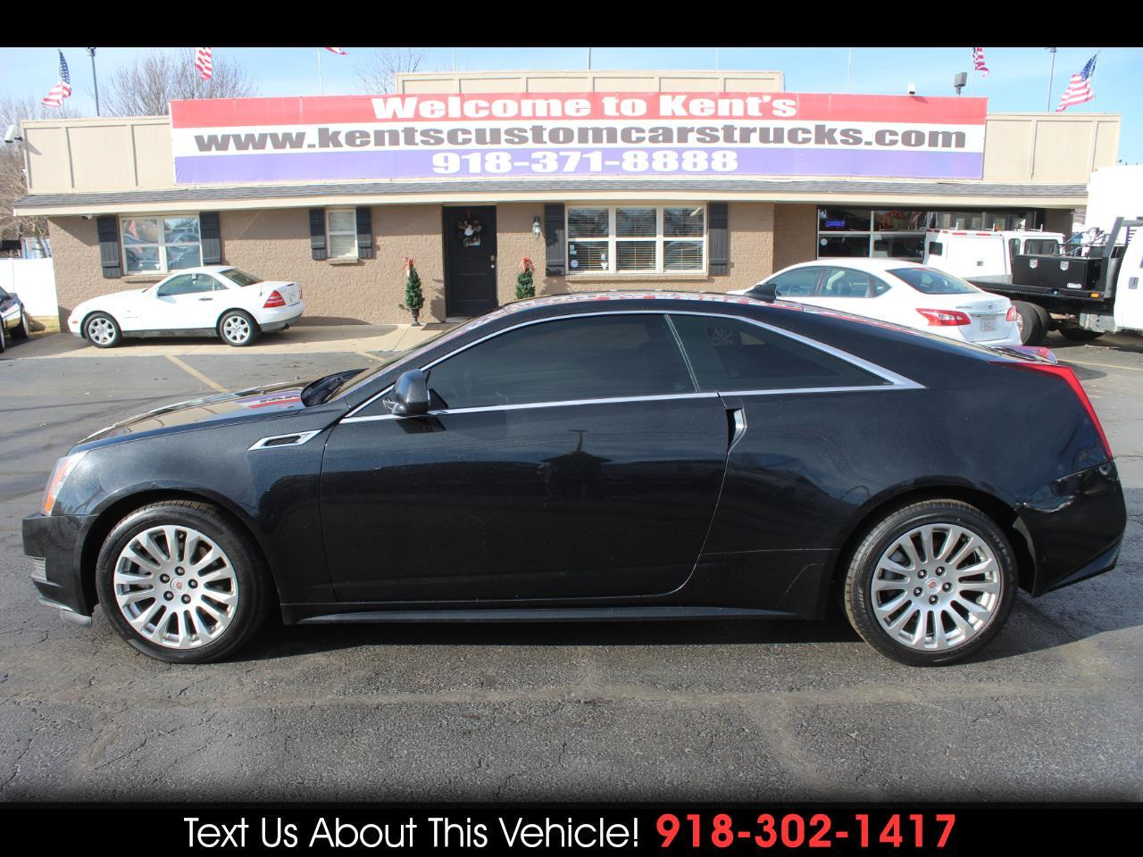 2012 Cadillac CTS 3.6L AWD Coupe