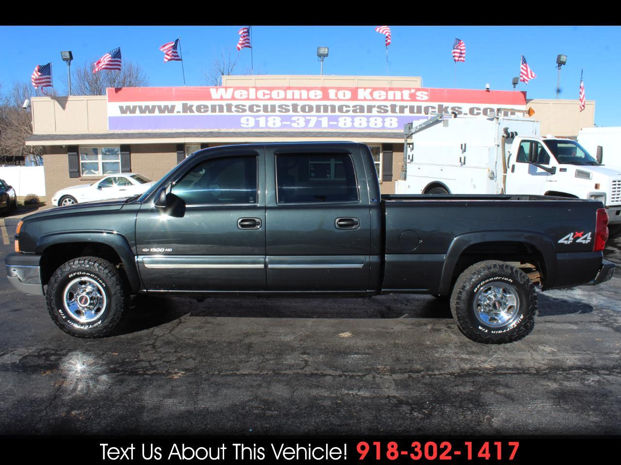 2003 Chevrolet Silverado 1500 HD LS Crew Cab 4WD Short Bed