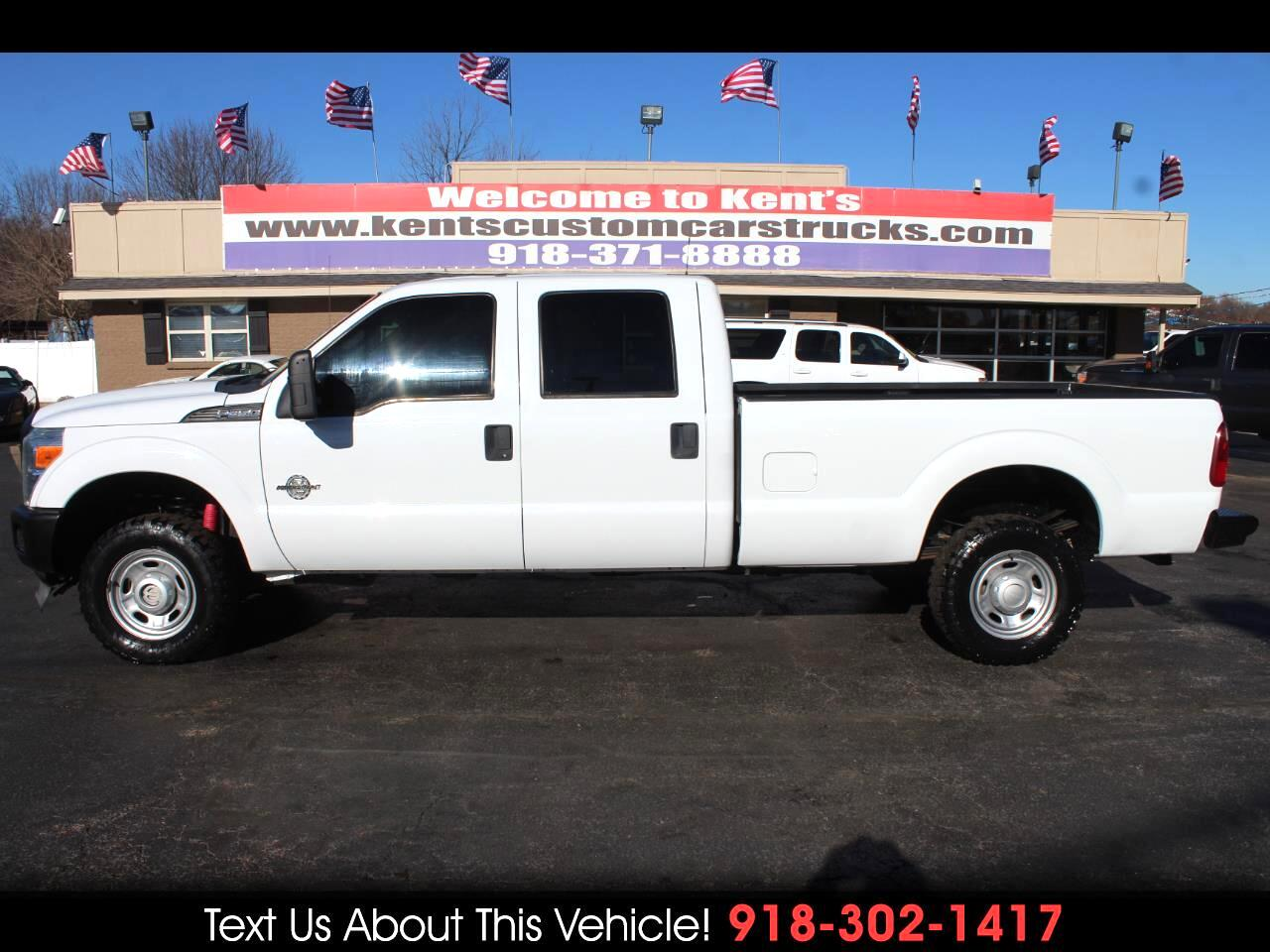 2012 Ford F-350 SD XL Crew Cab FX4 4WD SRW Long Bed