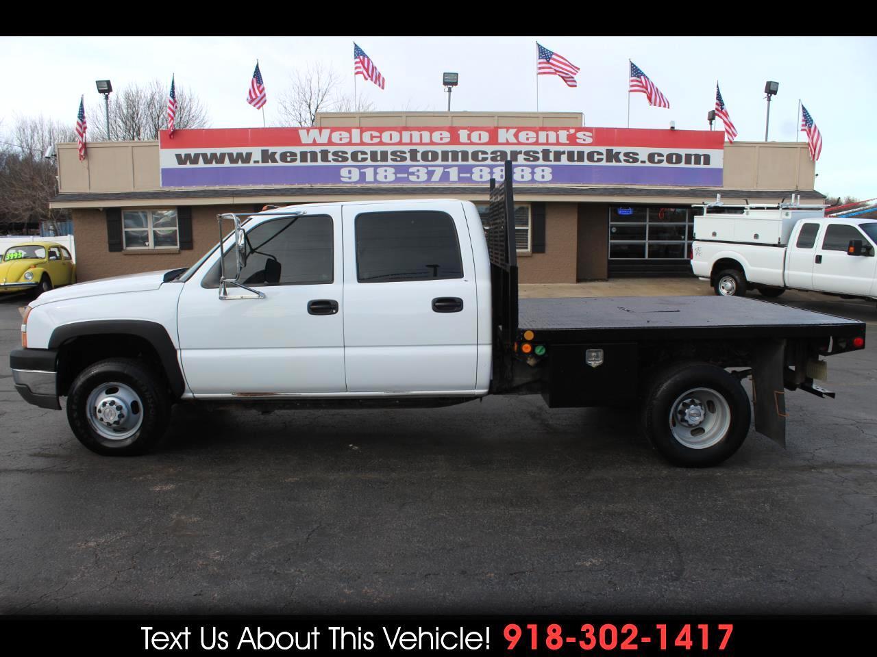2007 Chevrolet Silverado Classic 3500 Work Truck Crew Cab DRW 2WD Flatbed