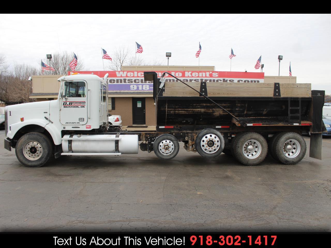 2010 Freightliner FLD120 Standard Cab Dump Truck