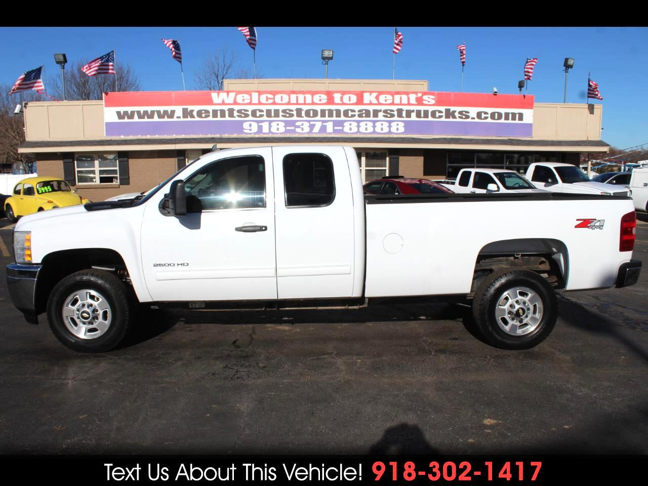 2011 Chevrolet Silverado 2500HD LT Extended Cab 4WD Long Bed Z71