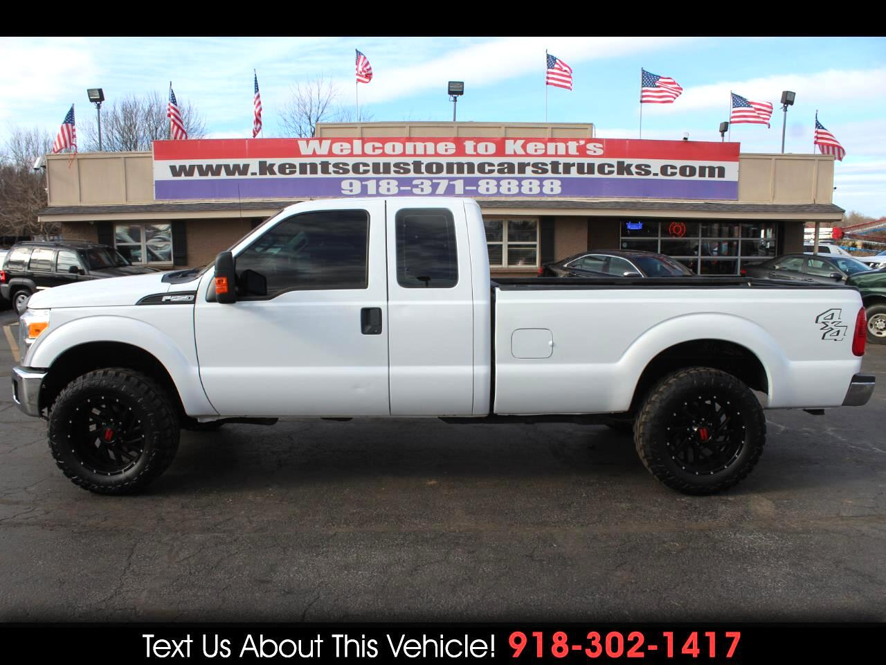 2014 Ford F-250 SD XL SuperCab 4WD 8 ft. Long Bed