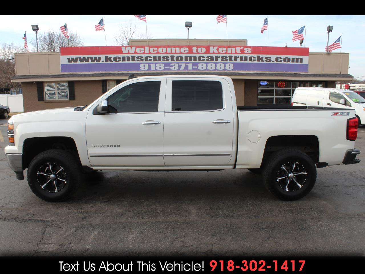 2015 Chevrolet Silverado 1500 LTZ Z71 Crew Cab 5.8 ft. Short Bed