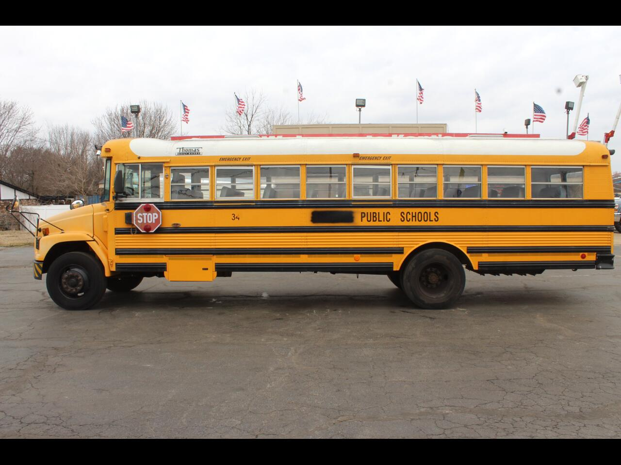 2002 Thomas School Bus 59 Passenger