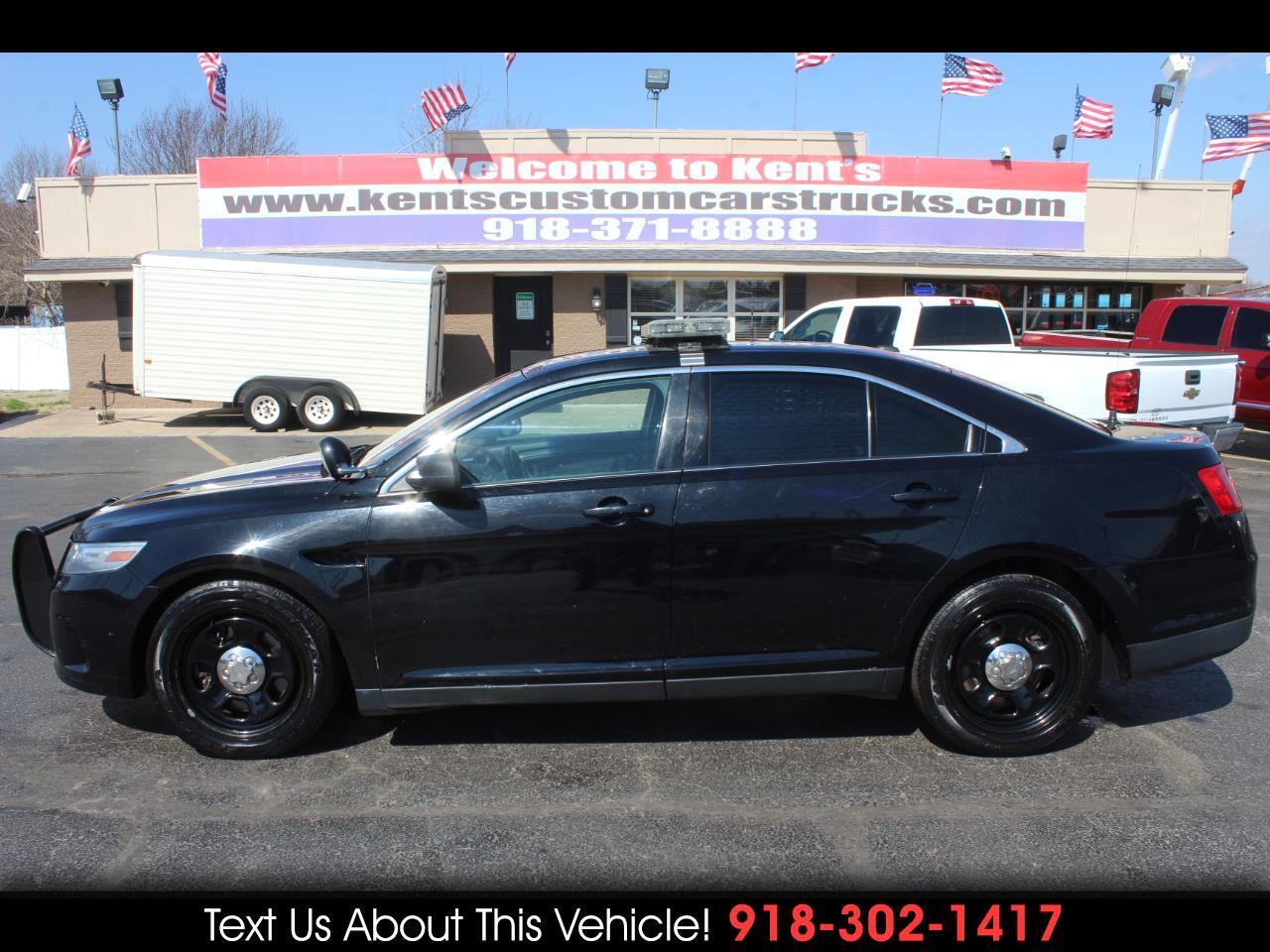 2013 Ford Taurus Police Interceptor K9 Sedan