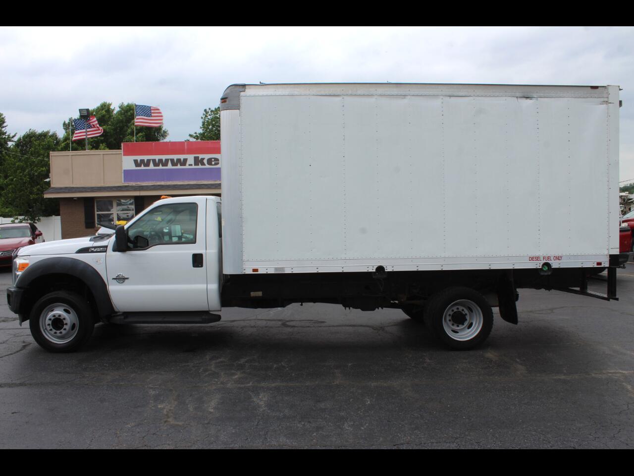 2012 Ford F-450 SD XL Regular Cab DRW 16 ft. Box Truck