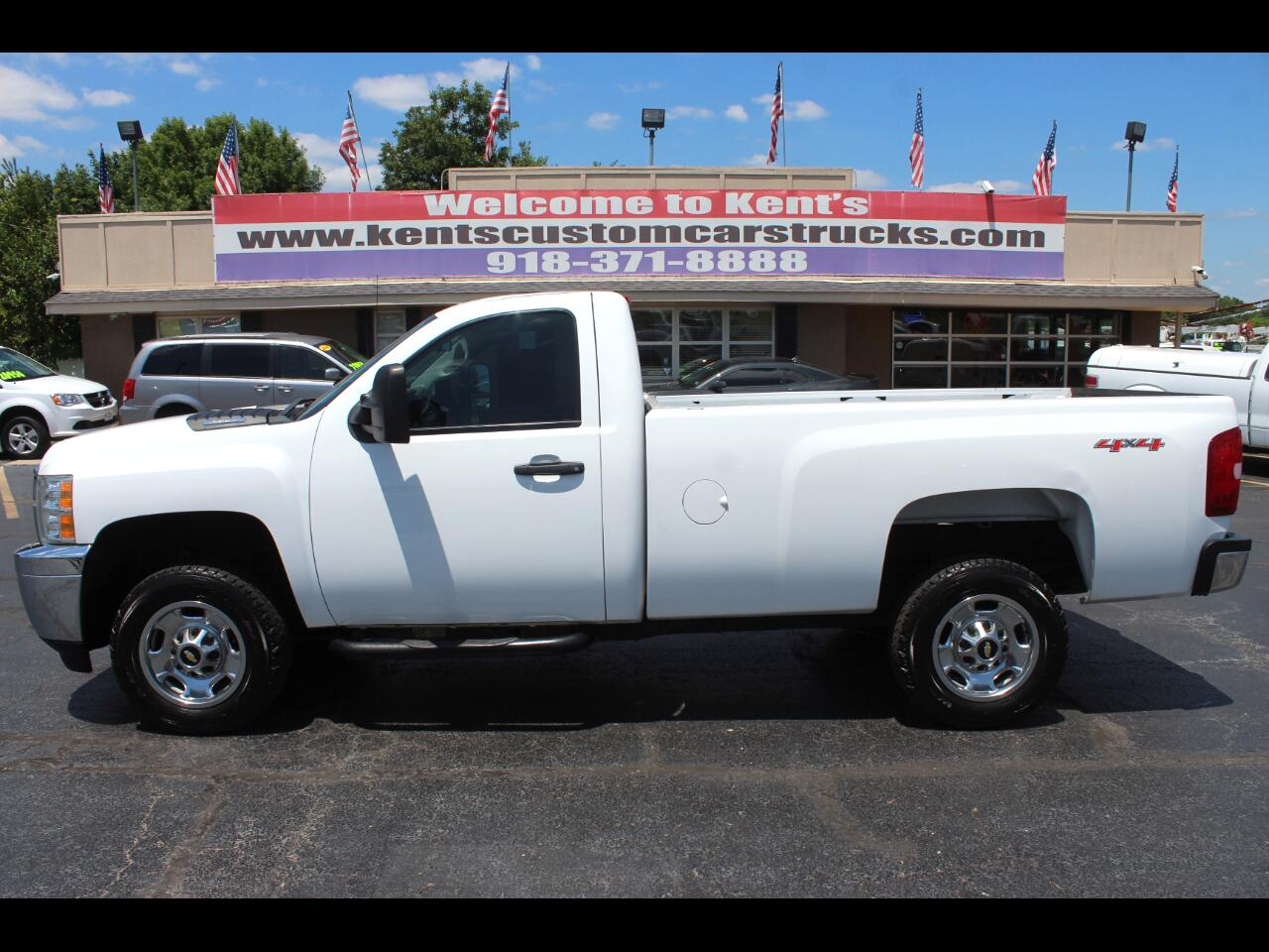 2013 Chevrolet Silverado 2500HD Work Truck Regular Cab 4WD Long Bed