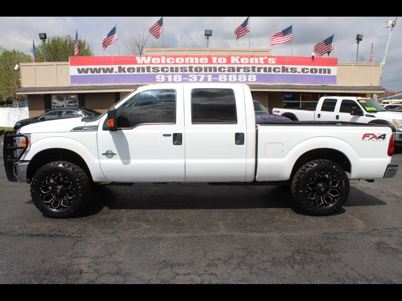 2015 Ford F-250 SD XLT FX4 Crew Cab 6.8 ft. Short Bed