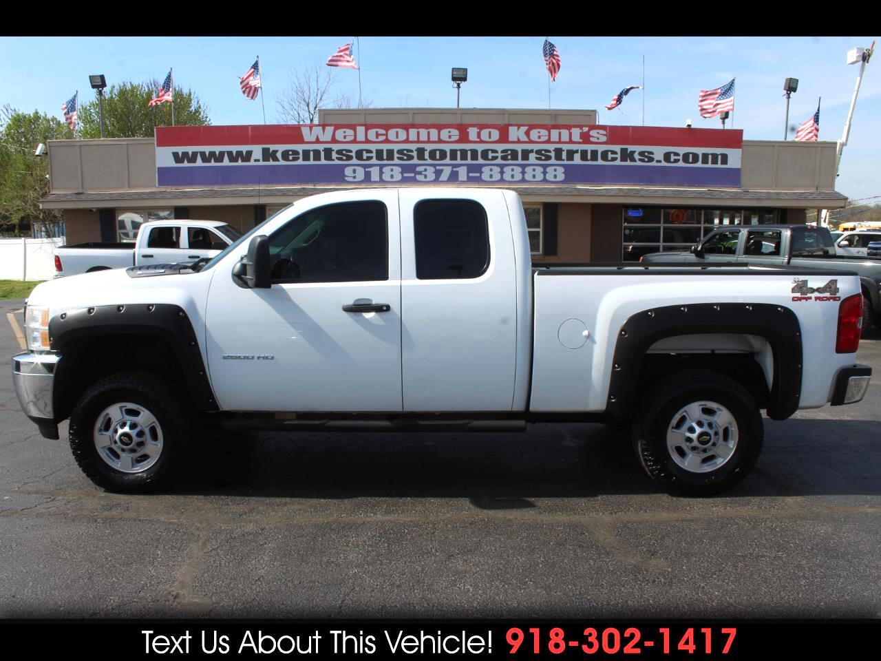 2011 Chevrolet Silverado 2500HD Work Truck Extended Cab 4WD Short Bed