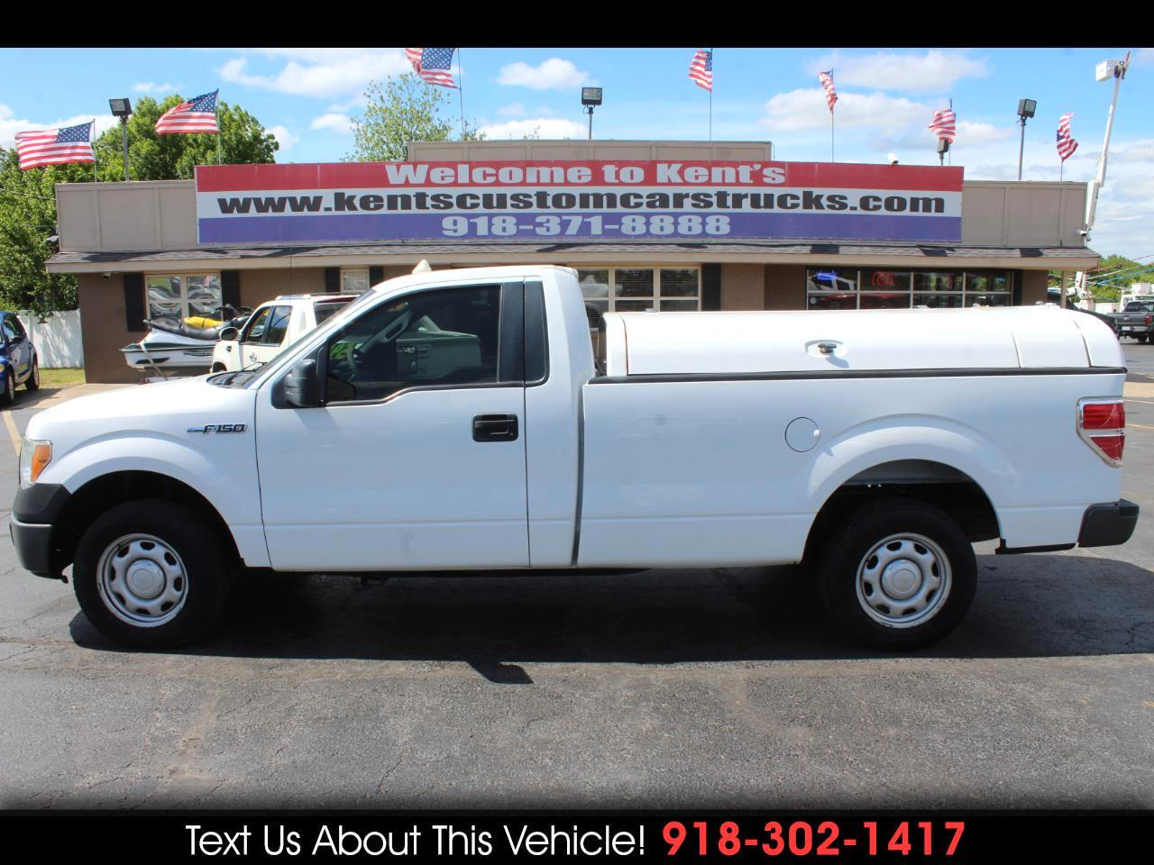 2010 Ford F-150 XL Regular Cab 2WD 8 ft. Long Bed