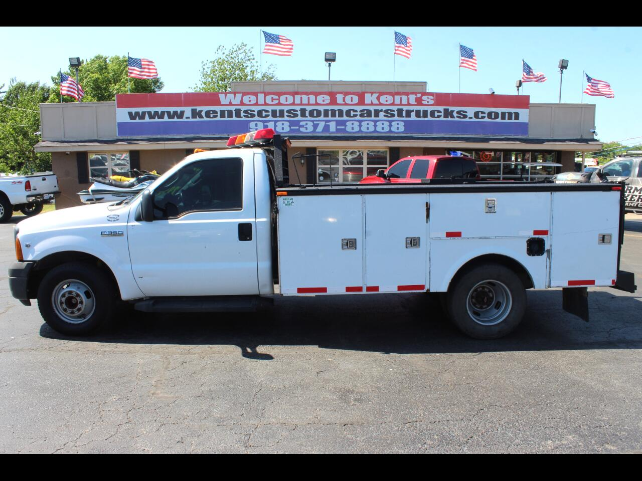 2006 Ford F-350 SD XL Regular Cab 2WD DRW Service Body