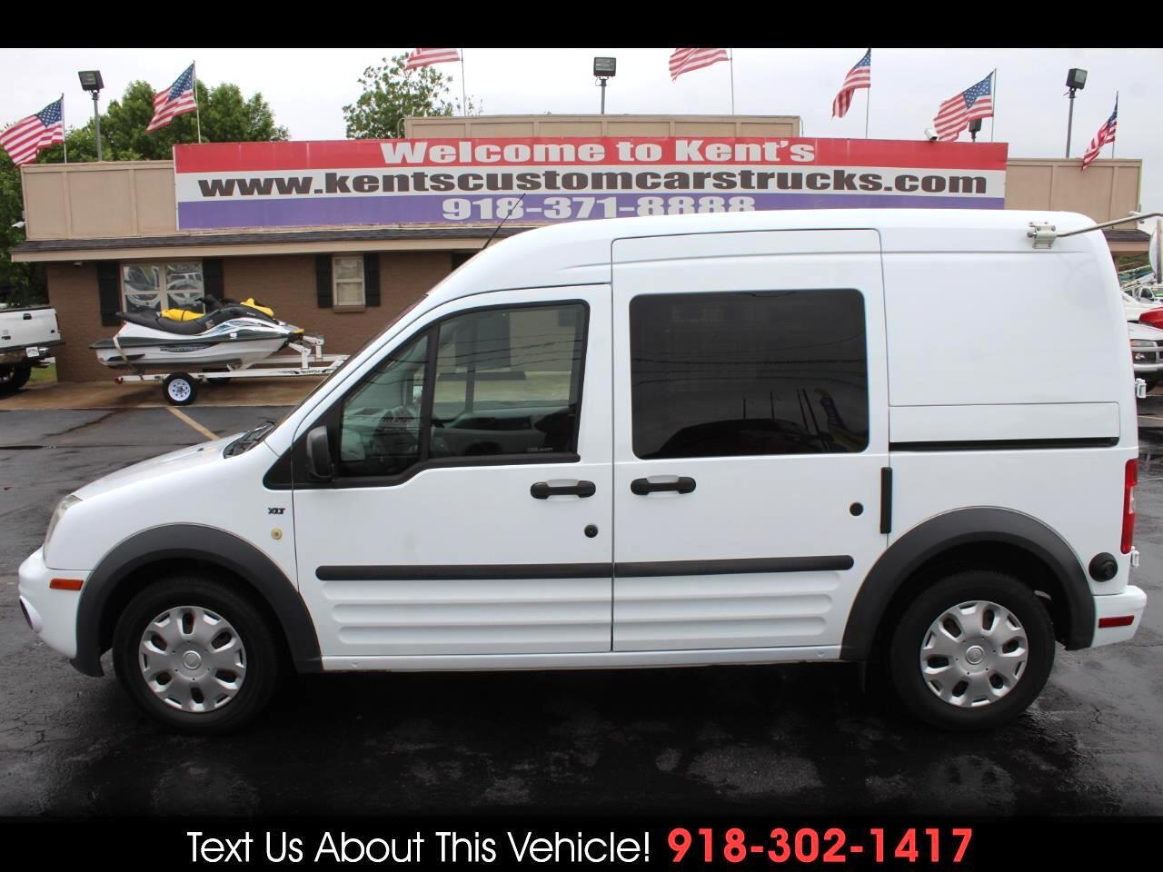 2013 Ford Transit Connect XLT with Side and Rear Door Glass