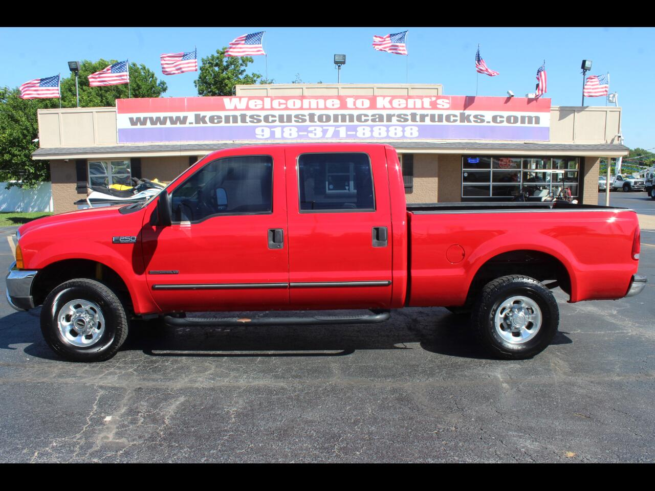 2000 Ford F-250 SD XLT Crew Cab 4WD Short Bed