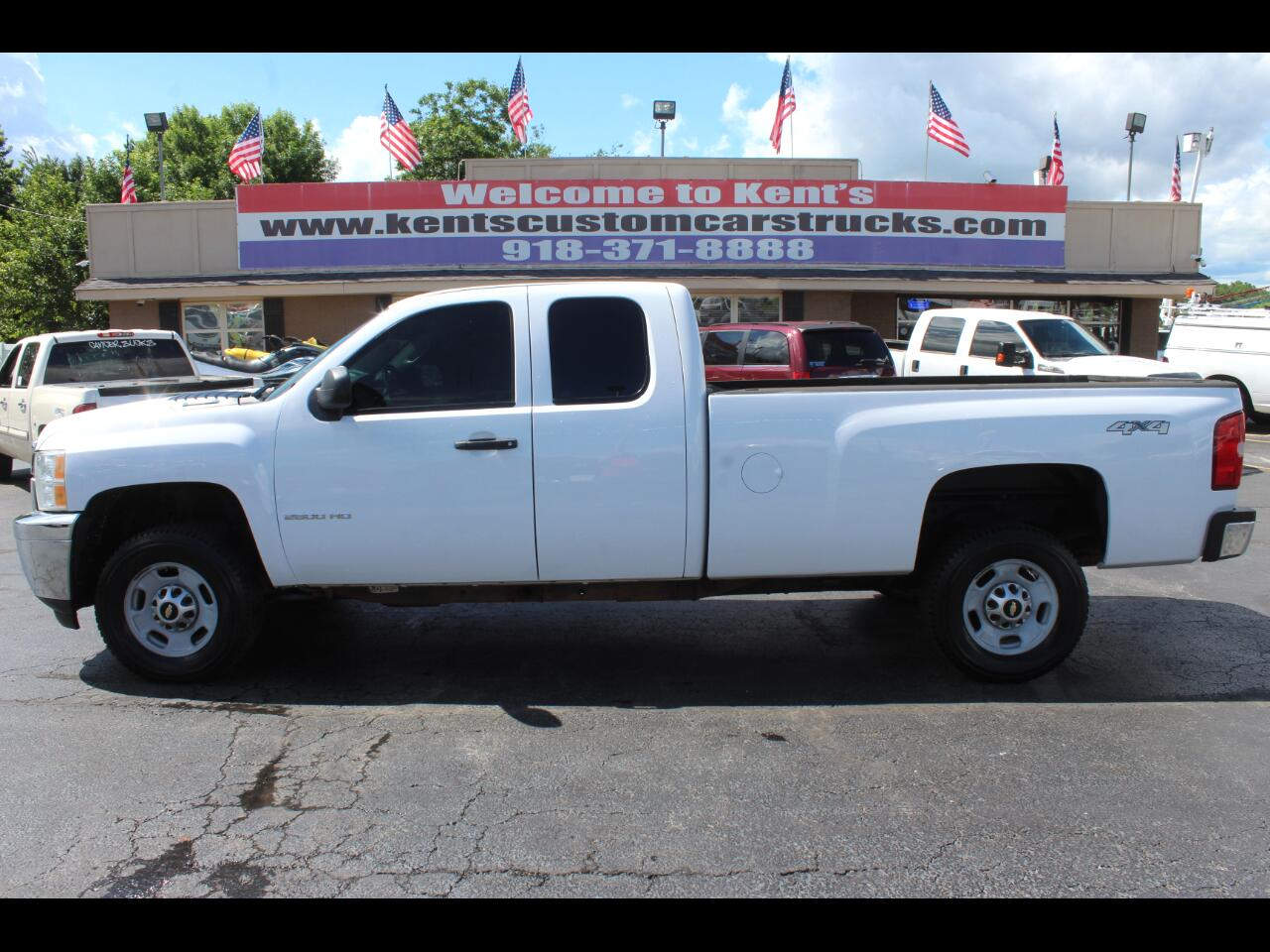 2013 Chevrolet Silverado 2500HD Work Truck Extended Cab 4WD Long Bed