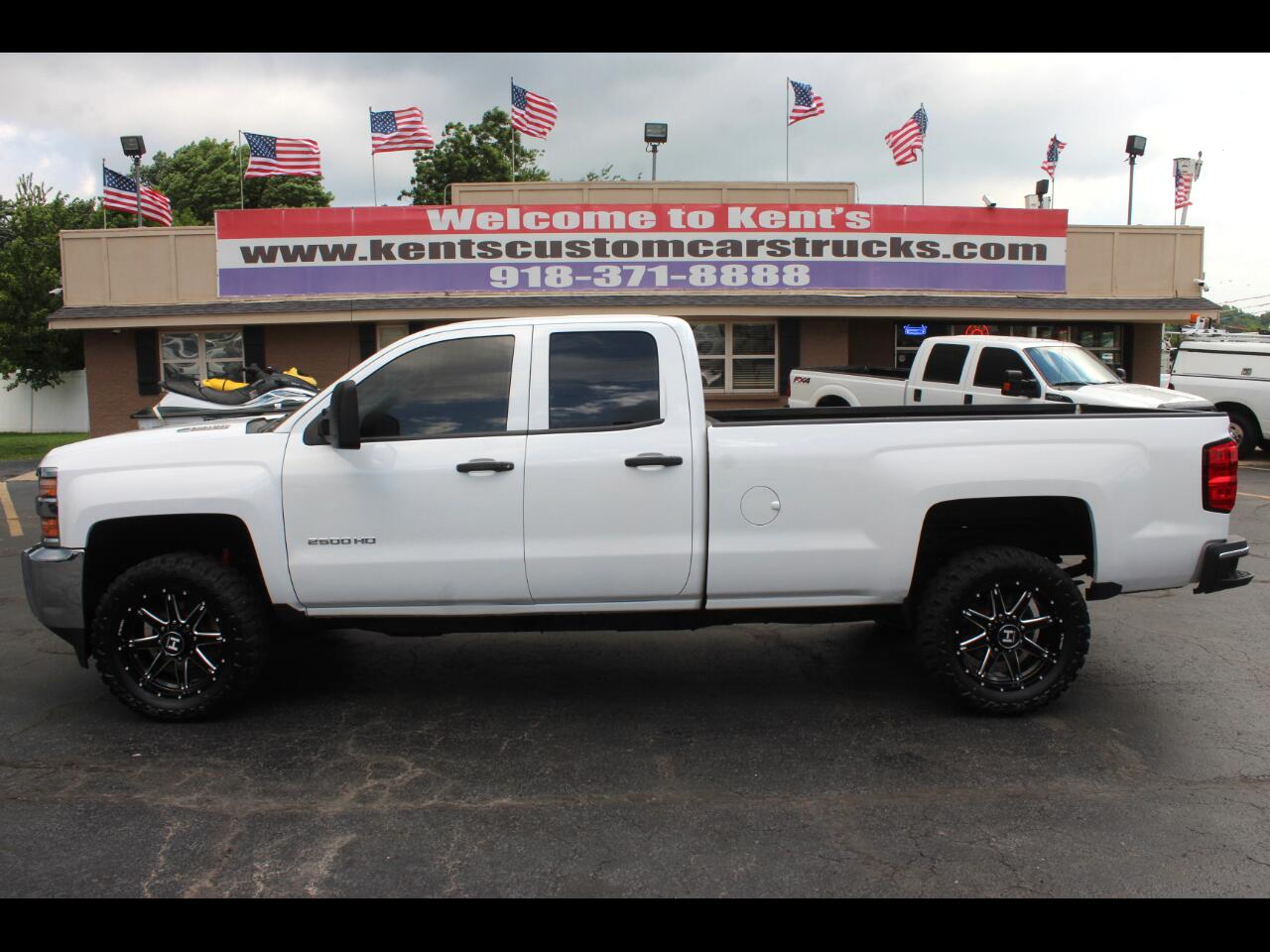 2015 Chevrolet Silverado 2500HD Work Truck Double Cab 4WD Long Bed w/Z71