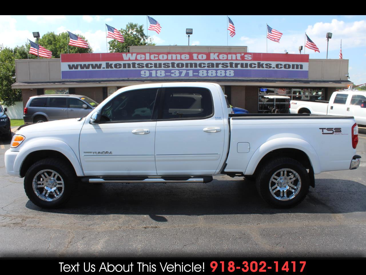 2004 Toyota Tundra SR5 Double Cab 4WD Short Bed