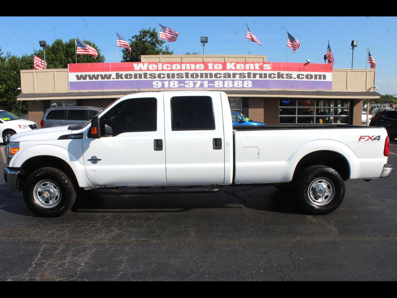 2013 Ford F-350 SD XL FX4 Crew Cab 4WD  SRW Long Bed