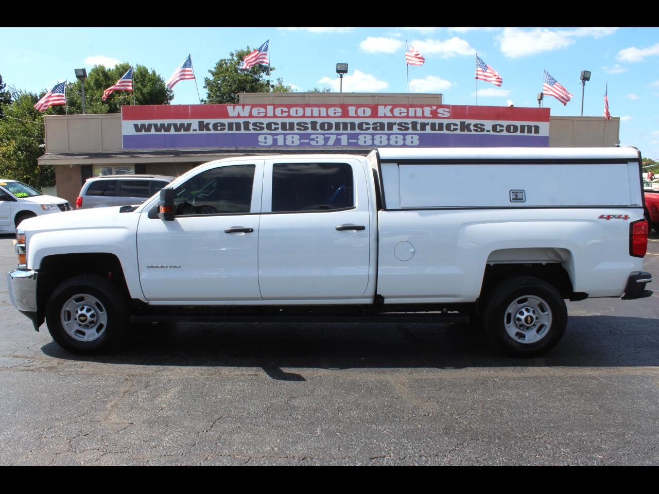 2017 Chevrolet Silverado 2500HD Work Truck Crew Cab 4WD Long Bed