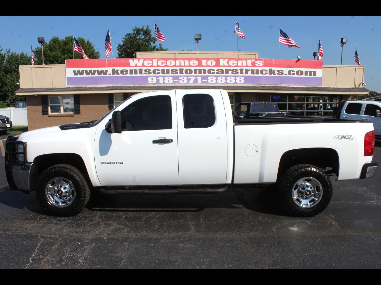 2012 Chevrolet Silverado 2500HD Work Truck Extended Cab 4WD Short Bed