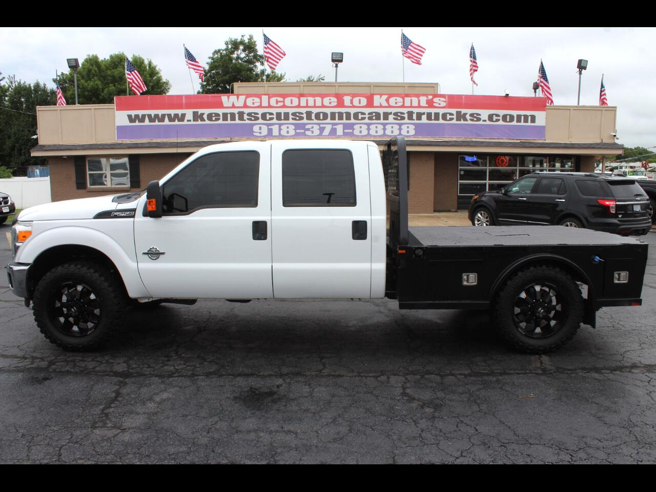 2014 Ford F-250 SD XL Crew Cab 4WD Flatbed
