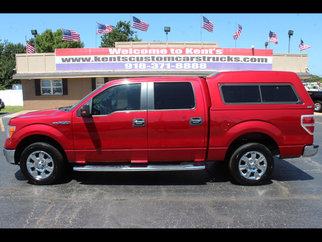 2012 Ford F-150 XLT SuperCrew Styleside 2WD 5.5 ft. Short Bed