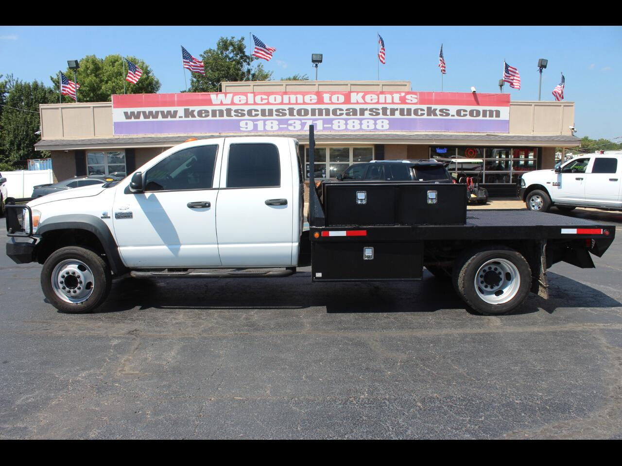 2008 Sterling Bullet 4500 Quad Cab 2WD DRW Flatbed