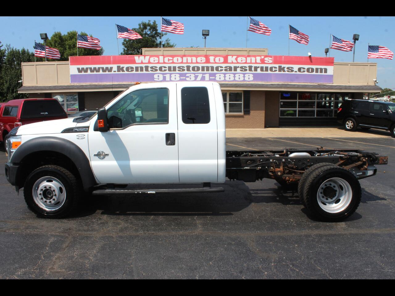 2013 Ford F-550 XL SuperCab 4WD DRW Cab Chassis