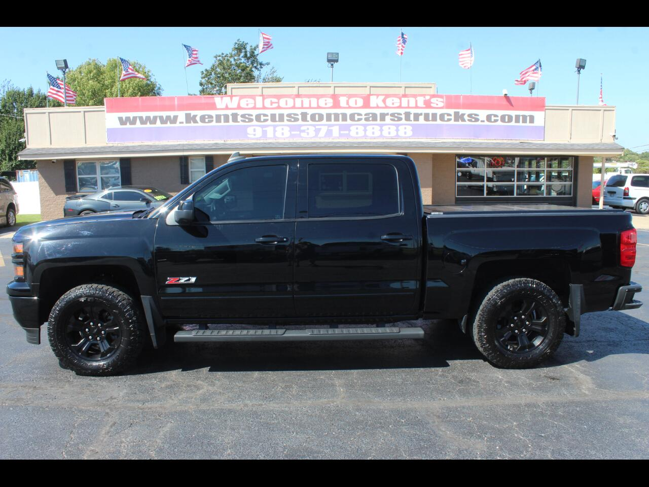 2015 Chevrolet Silverado 1500 LTZ Z71 Crew Cab 4WD 5.8 ft. Short Bed