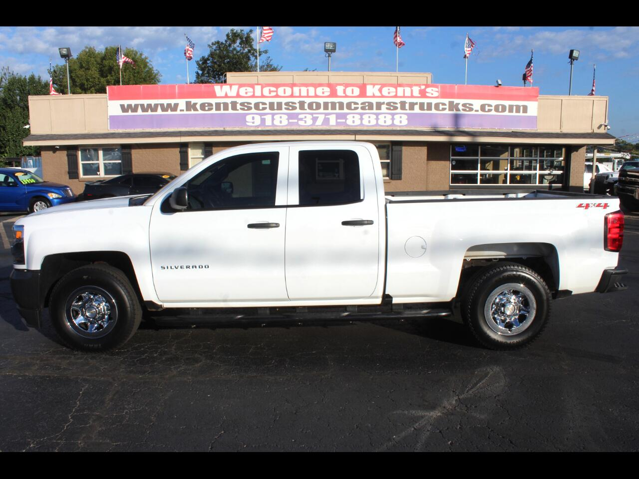 2018 Chevrolet Silverado 1500 Work Truck Double Cab 4WD Short Bed