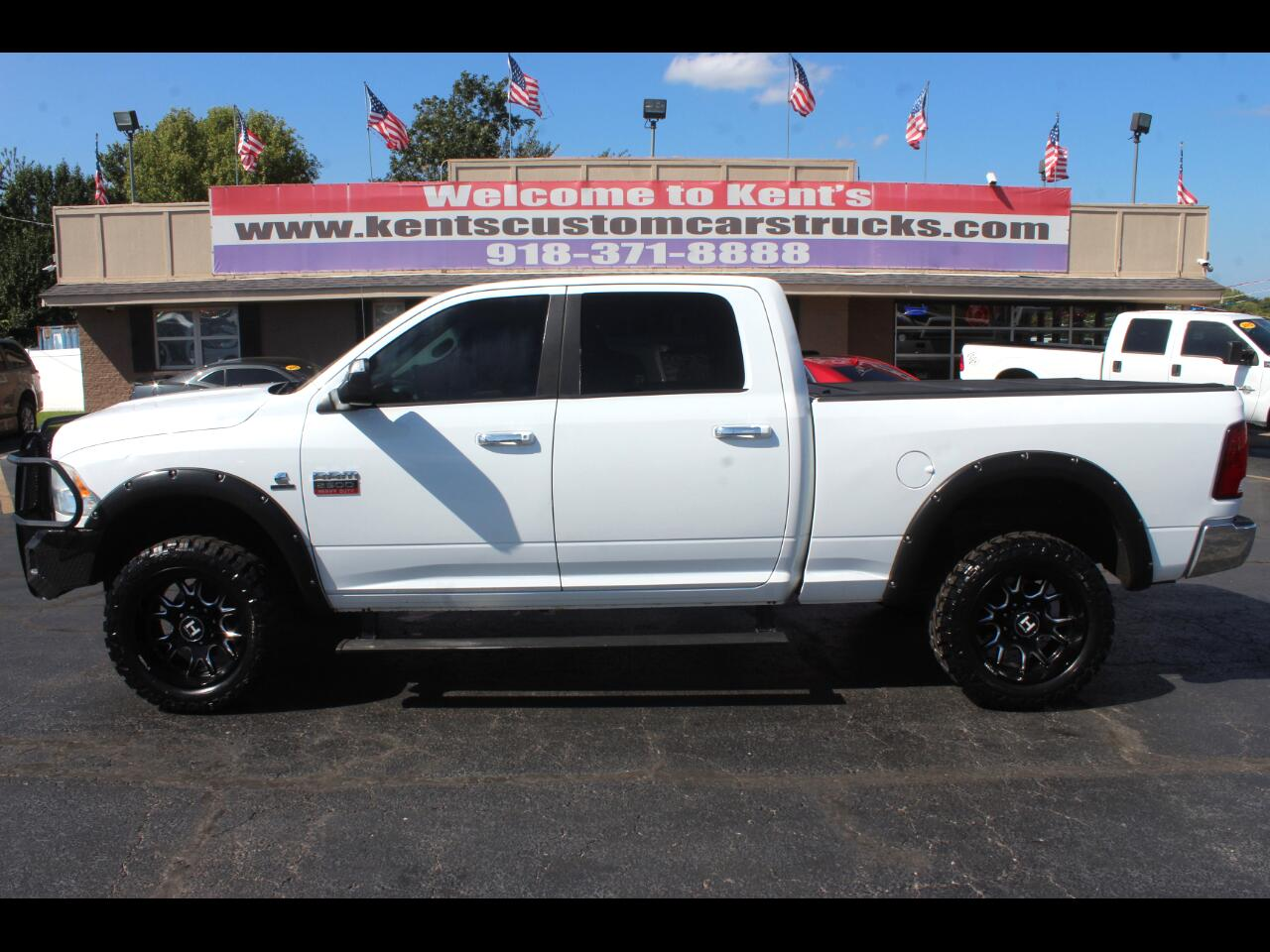 2010 Dodge 2500 HD SLT Crew Cab 4WD Short Bed