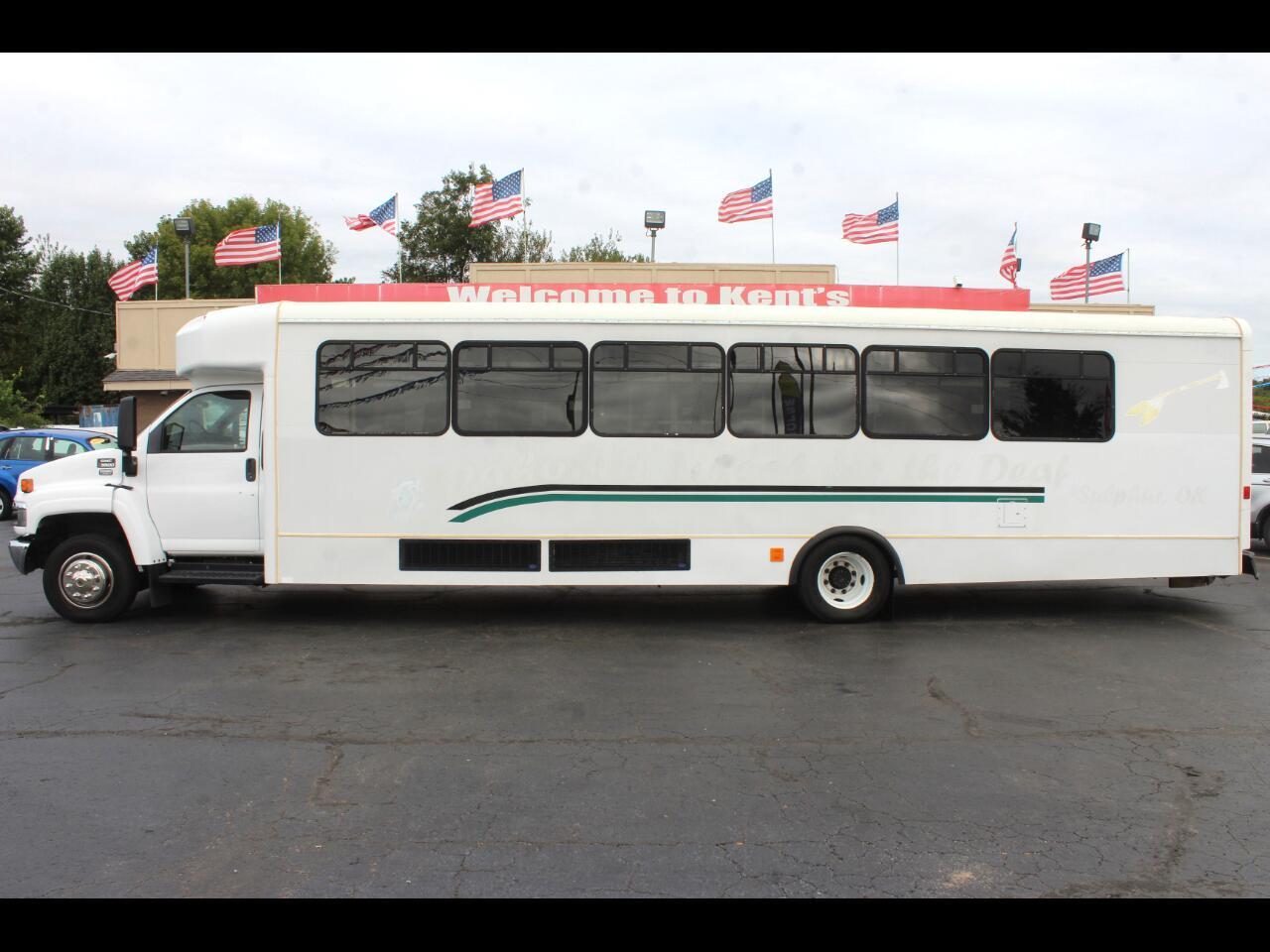 2006 GMC C5500 Glaval Bus 42 Passenger