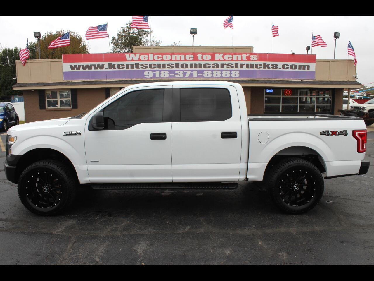 2015 Ford F-150 XL SuperCrew 4WD 5.5-ft. Short Bed