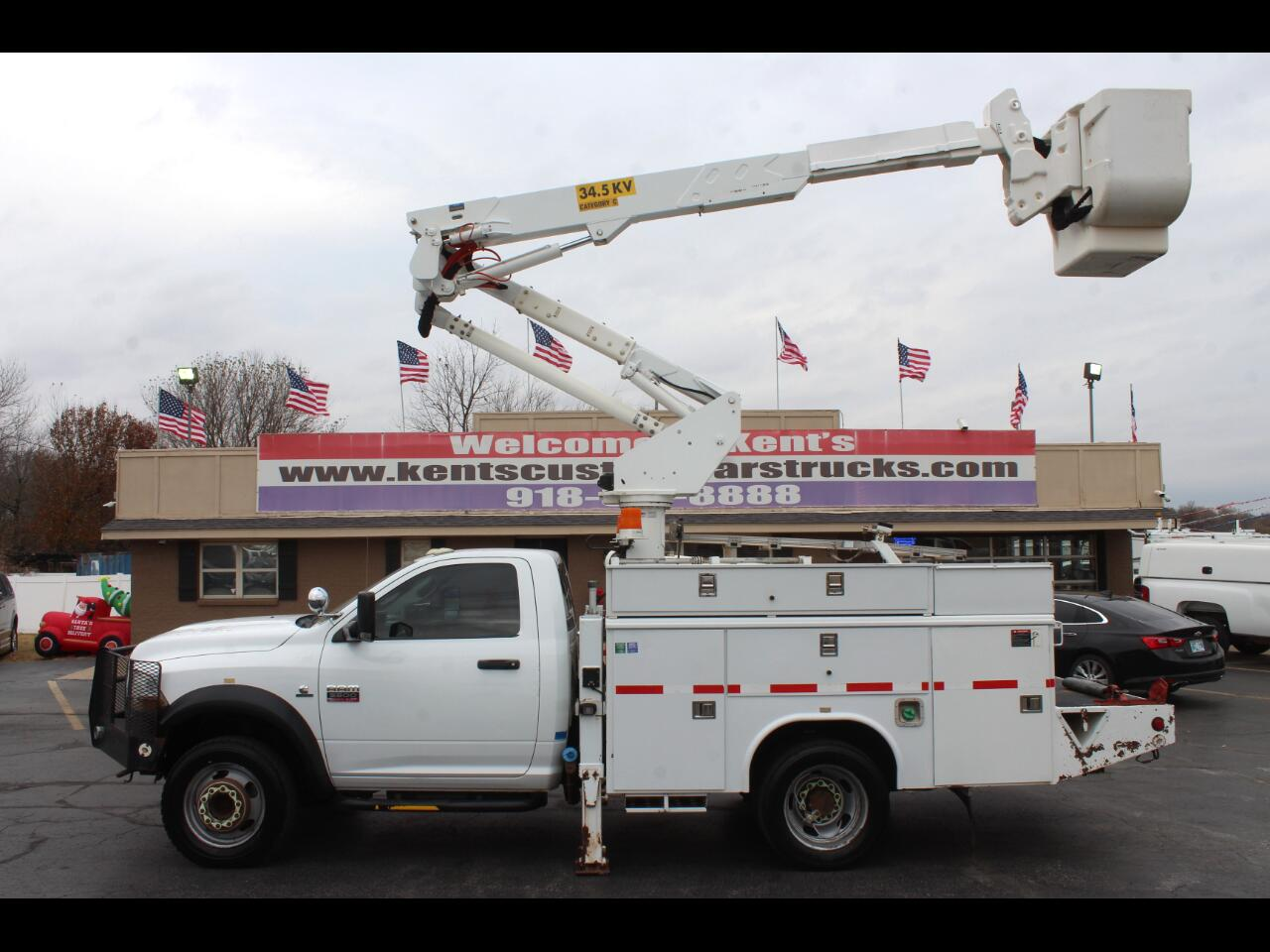 Used Bucket Trucks For Sale >> Used 2011 Ram 5500 Regular Cab 4wd Drw Bucket Truck For Sale