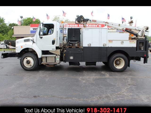2010 Freightliner M2 106 Business Class Conventional Cab Crane Body
