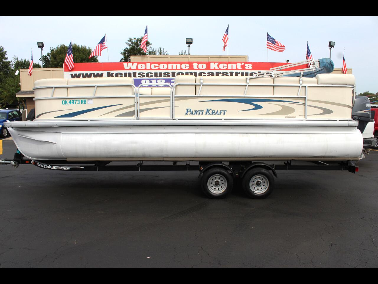 2007 Godfrey PartiKraft 2386-23 RE 3 Gate Pontoon
