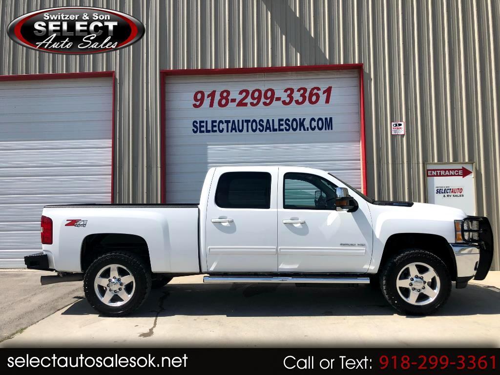 """2012 Chevrolet Silverado 2500HD 4WD Crew Cab 153.7"""" LTZ"""