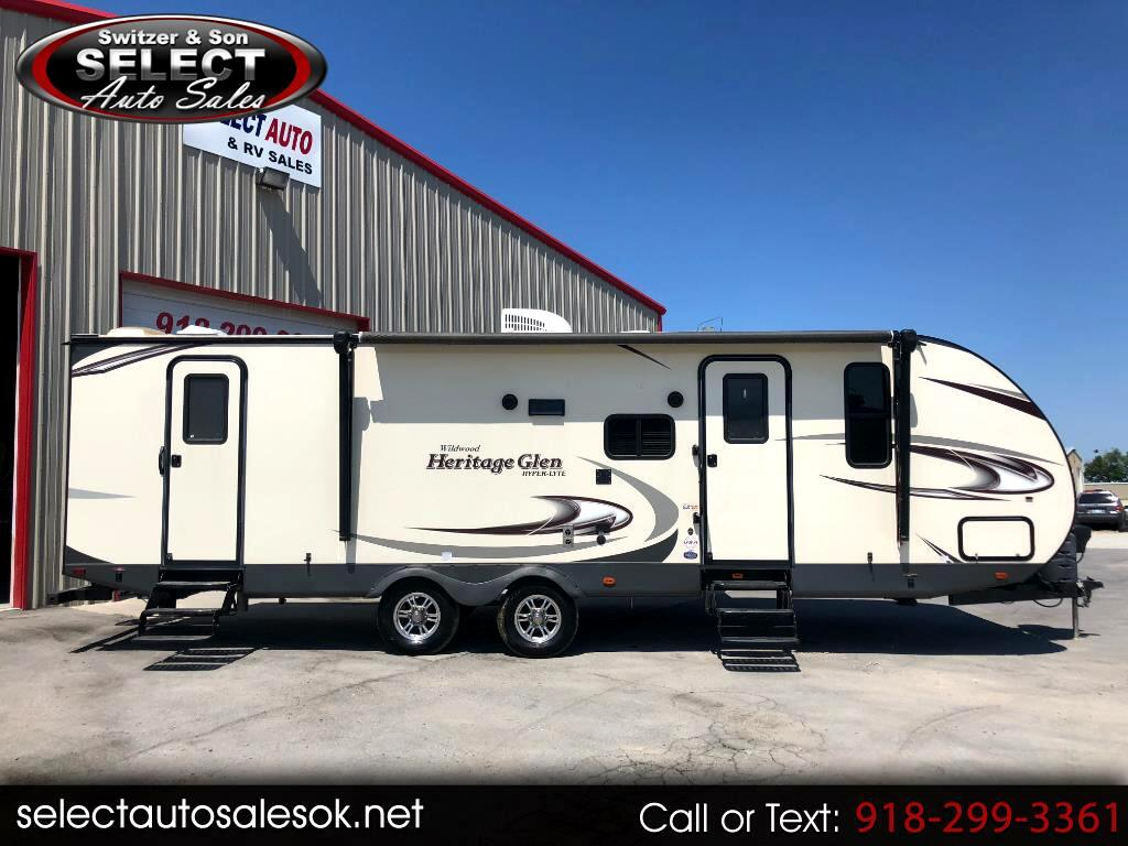 2016 Forest River Wildwood 27BHHL