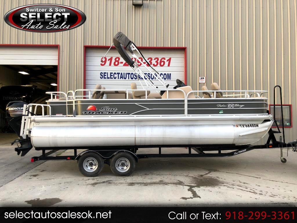 2016 Sun Tracker Fishing Barge 22 DXL