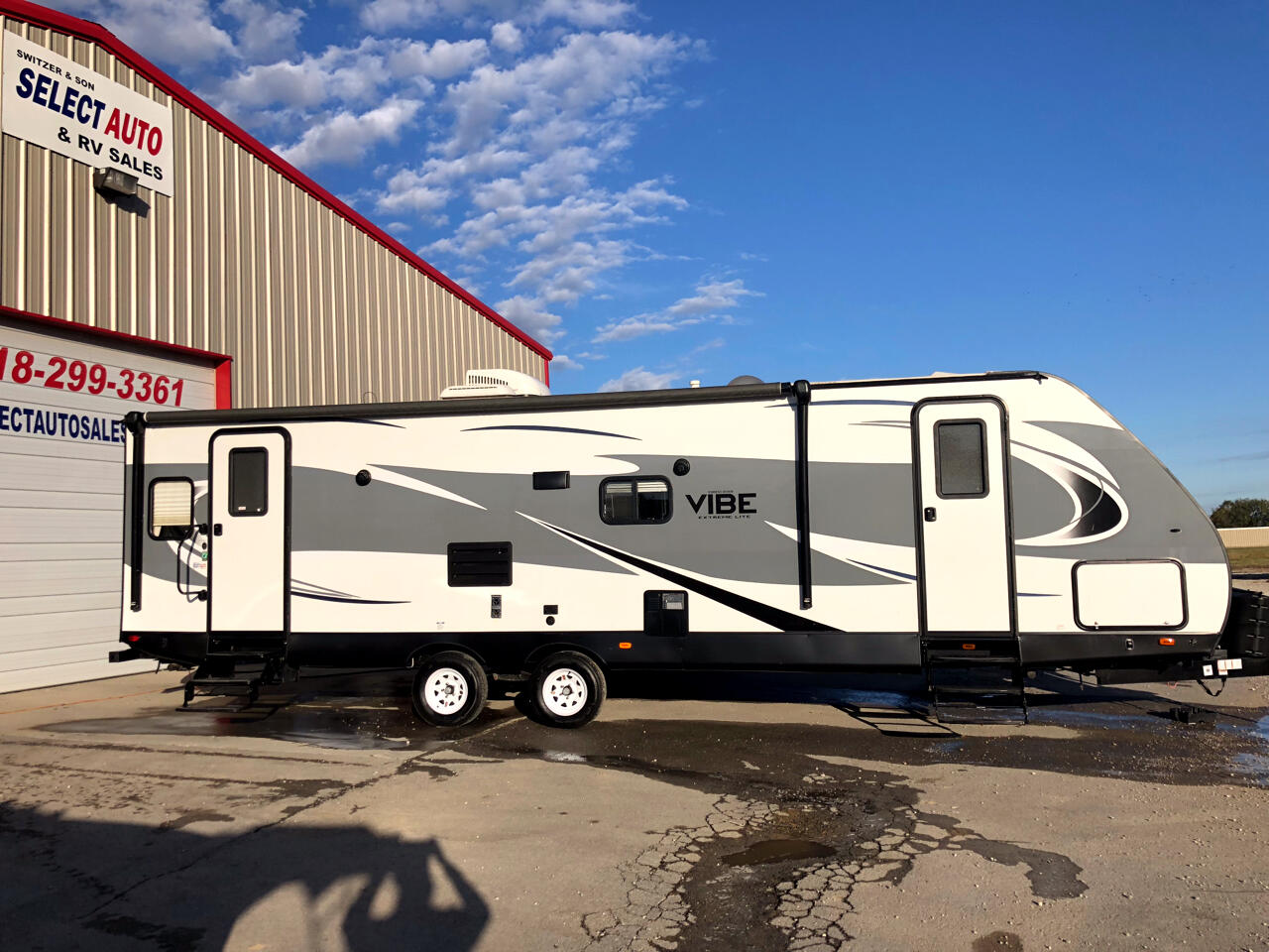 2017 Forest River Vibe VBT277RLS