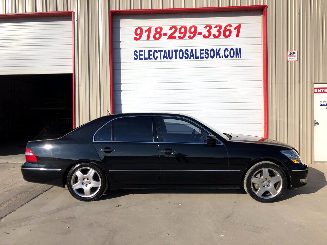 2004 Lexus LS 430 4dr Sdn