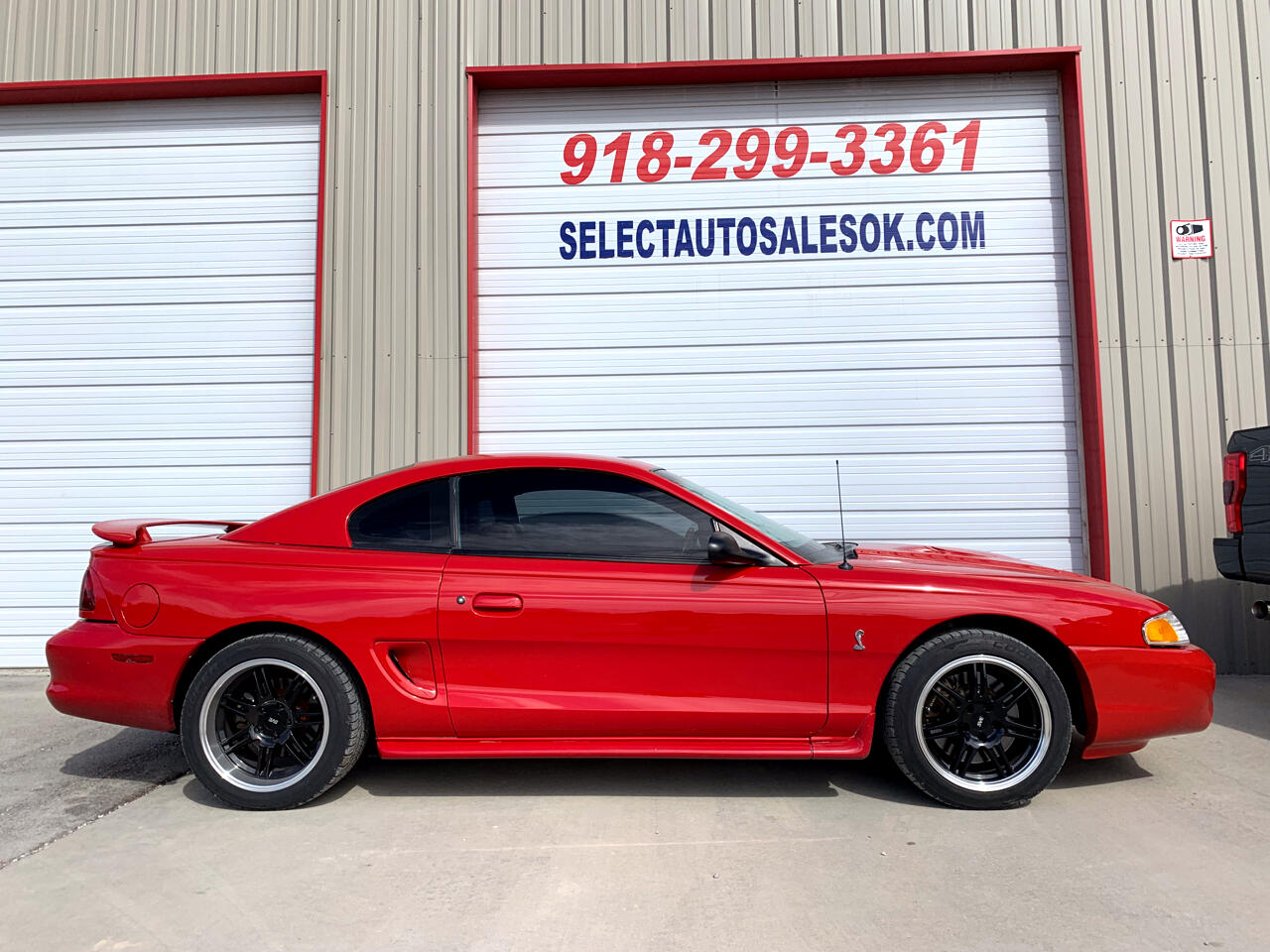 1997 Ford Mustang 2dr Cpe Cobra