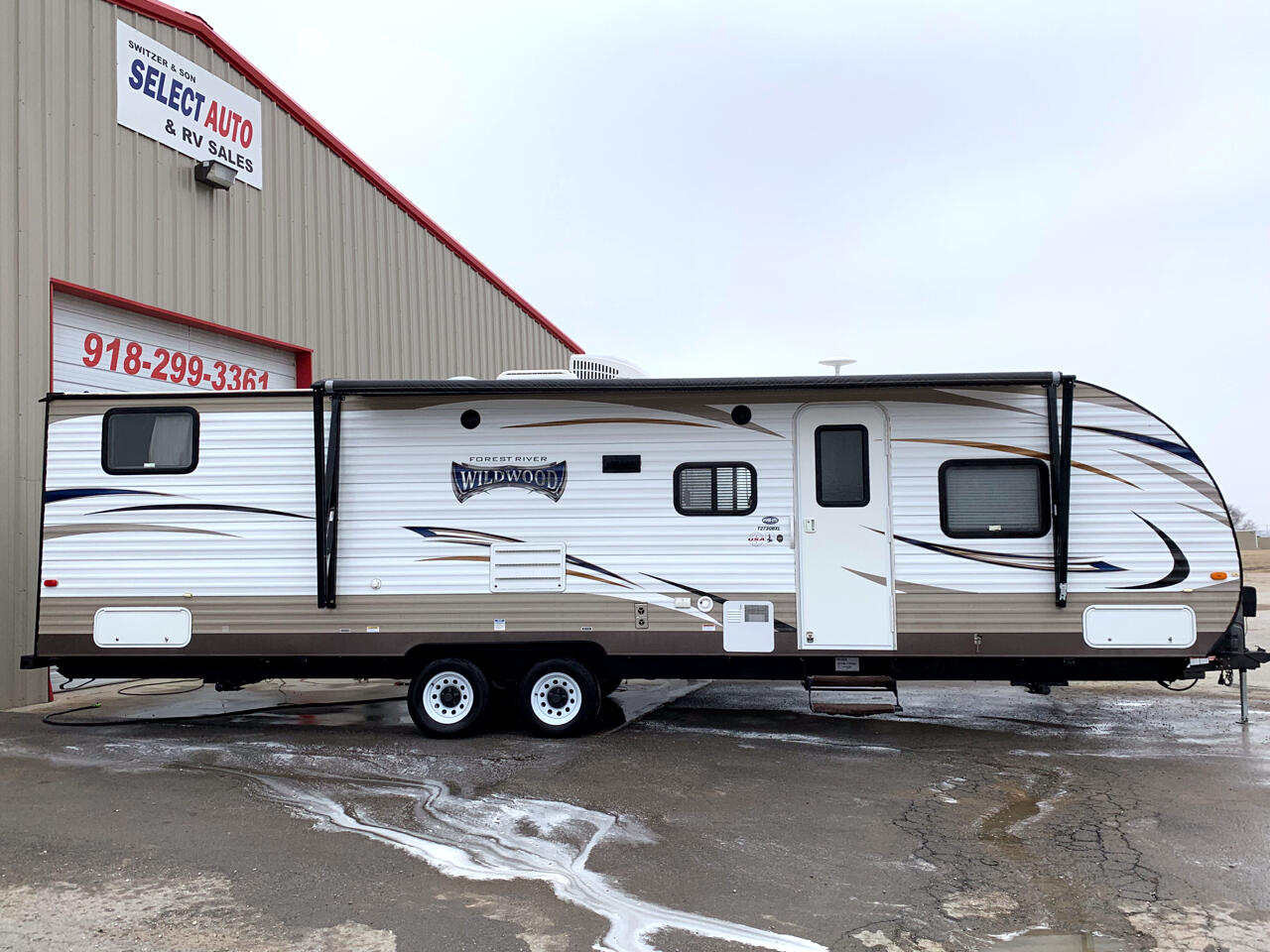 2016 Forest River Wildwood 273QBX