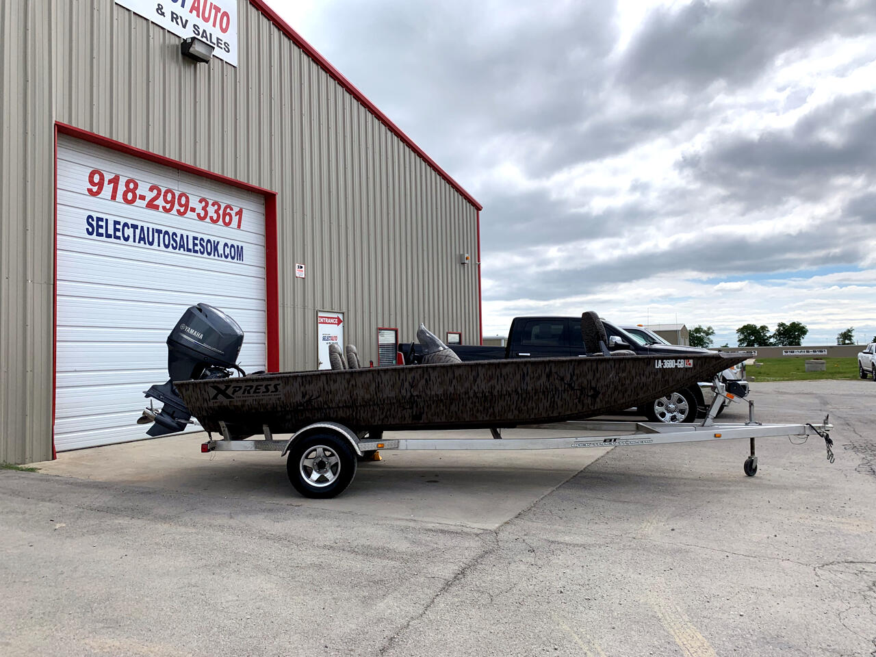 2014 Xpress Bass boat XP200