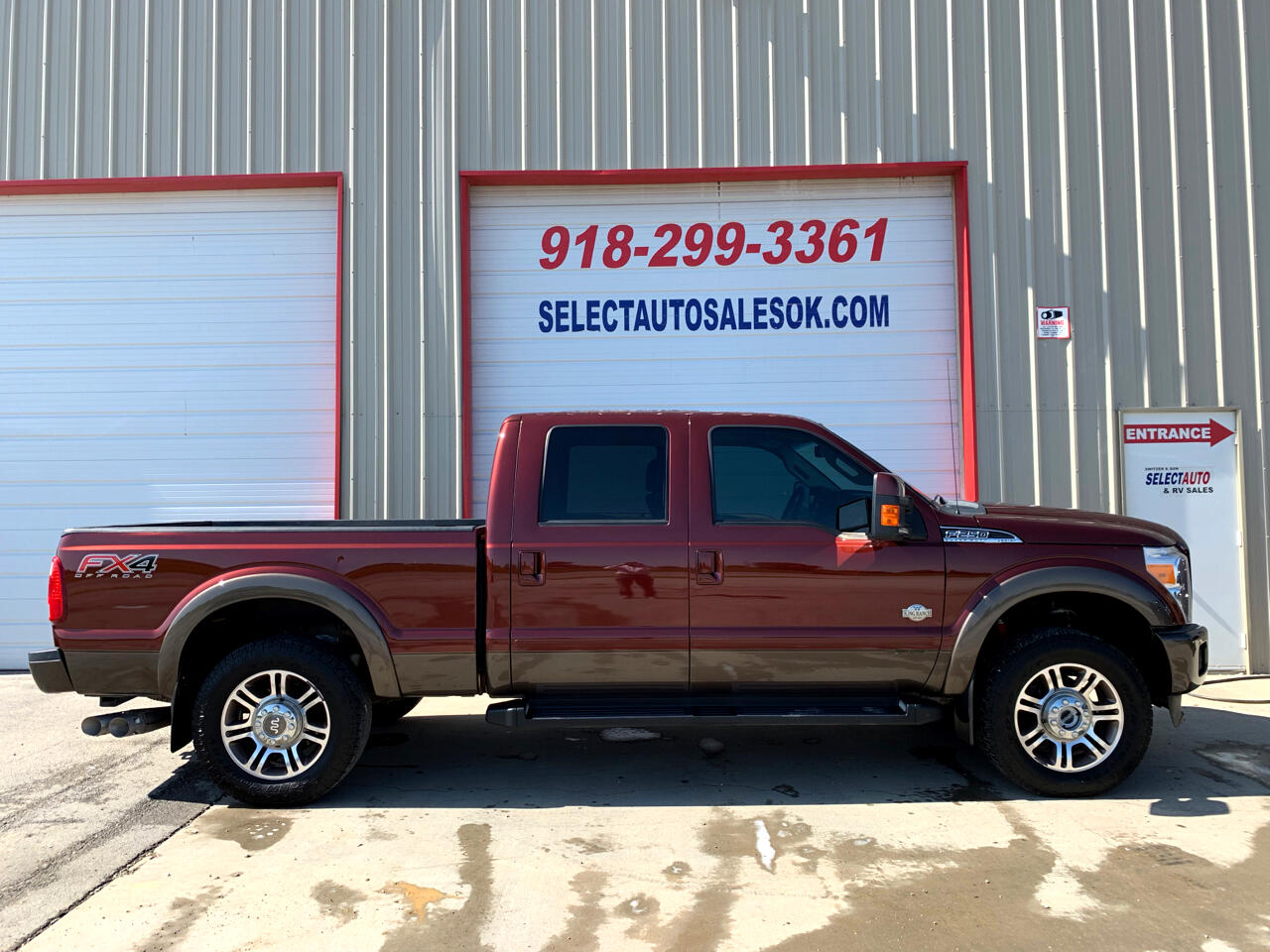 "2015 Ford Super Duty F-250 SRW 4WD Crew Cab 156"" King Ranch"