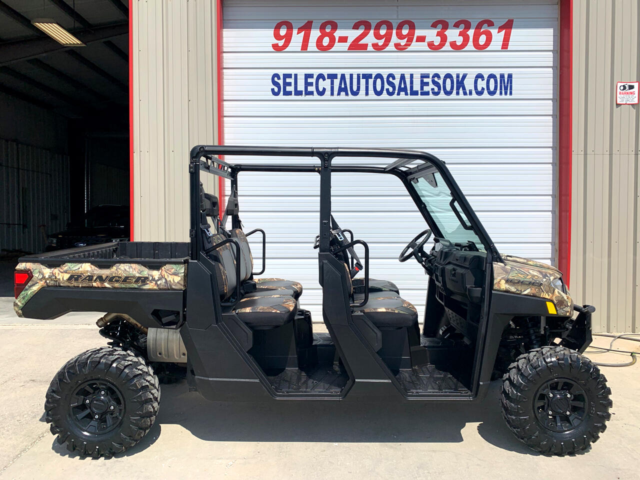 2019 Polaris Ranger CREW 1000 XP EPS