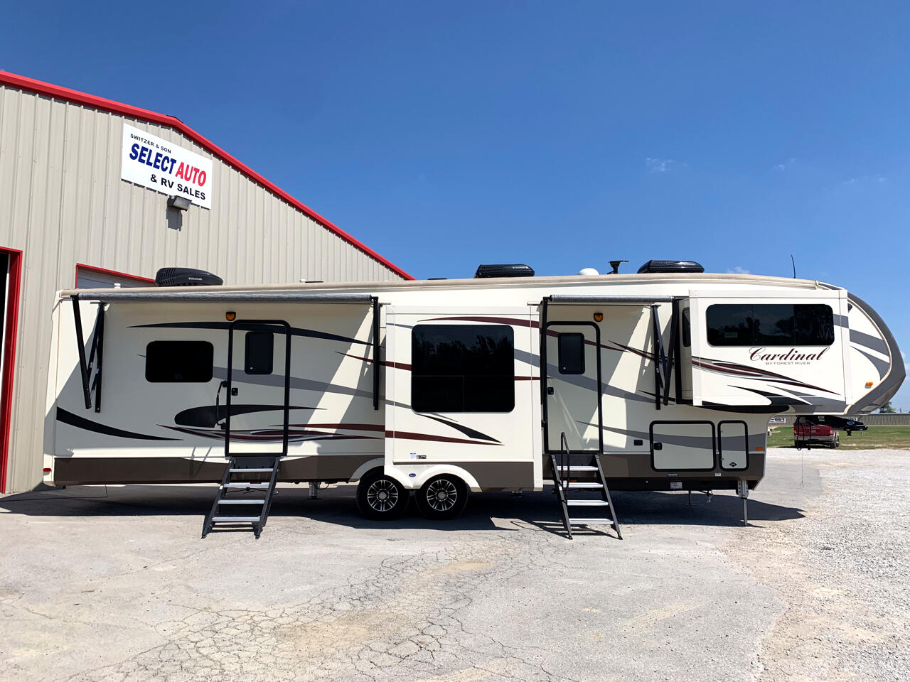 2017 Forest River Cardinal 3825 Front Living