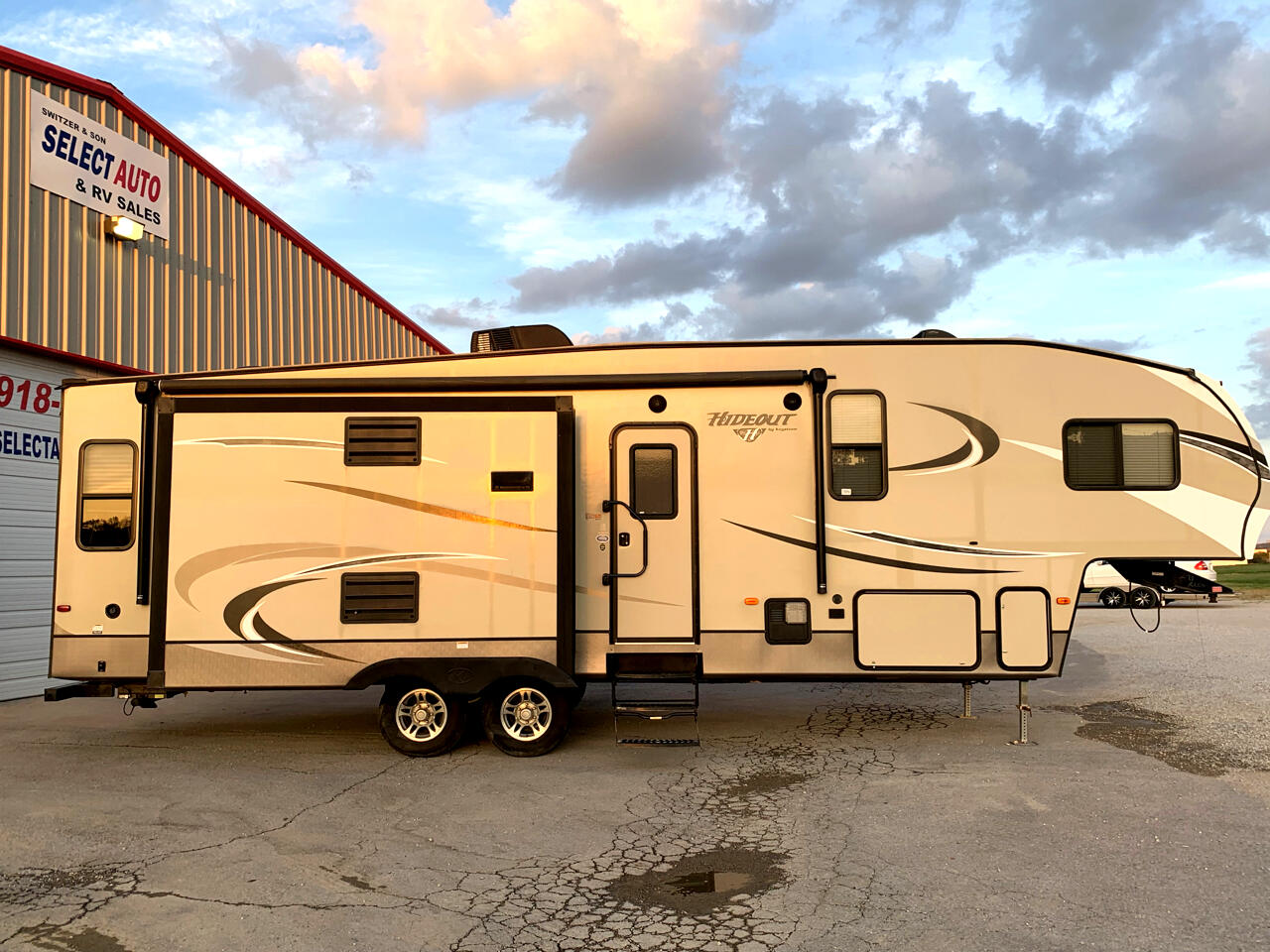 Rv Sales Tulsa >> Used 2017 Keystone Rv Hideout 299rlds For Sale In Tulsa Ok